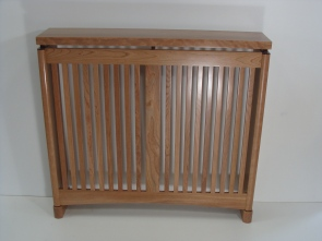 Radiator cover, cherry