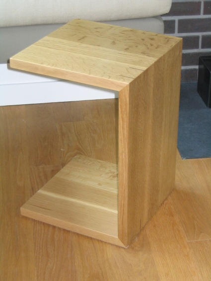 End table, white oak