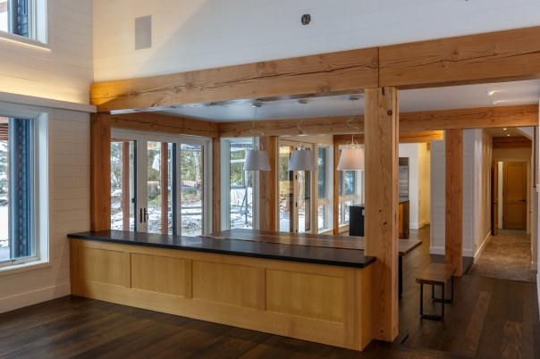 Lake Couchiching cottage cabinetry