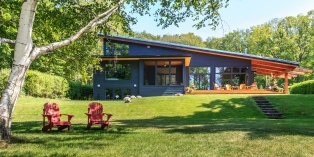 Lake Simcoe Cottage - Designed by James Ireland